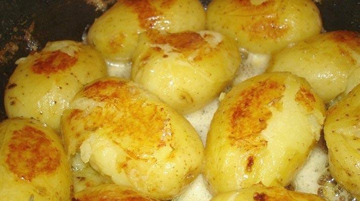 Пирожное заварное «Картошка»