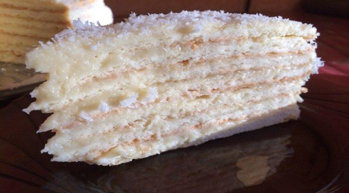 Торт «РАФАЭЛЛО» Мягкий и очень вкусный!