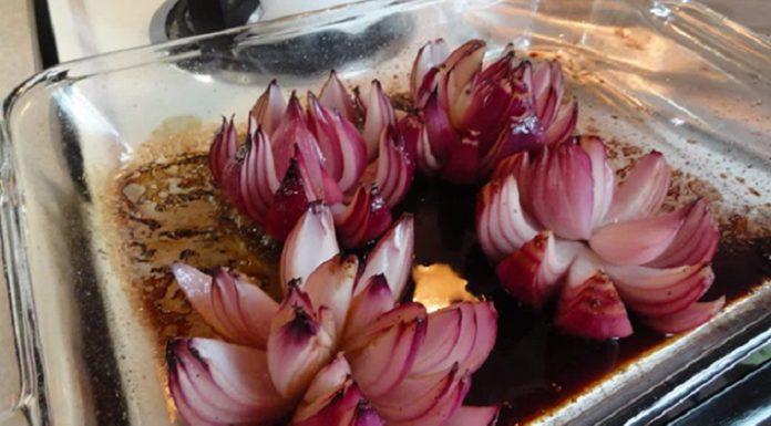 Водяные лилии из лука