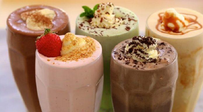 5 классных молочных коктейлей