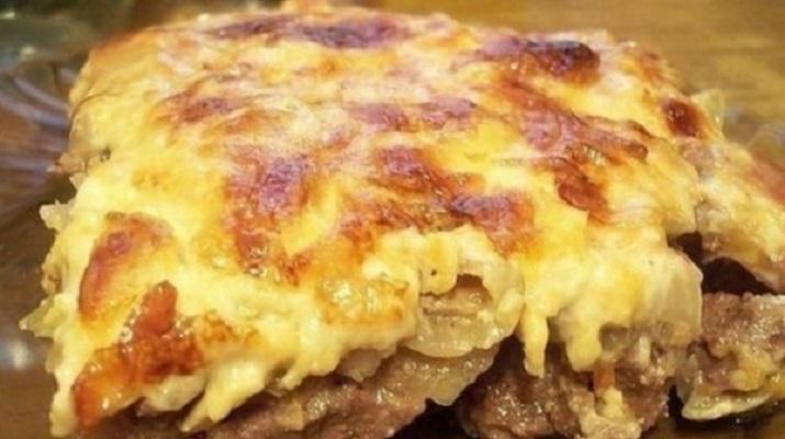 рецепт запеченного мяса в духовке с картошкой в