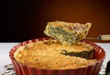 Пирог из кабачков и фарша