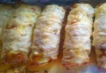 Капуста, жареная с колбасой
