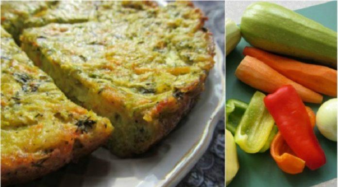 Аппетитный кугель из овощей