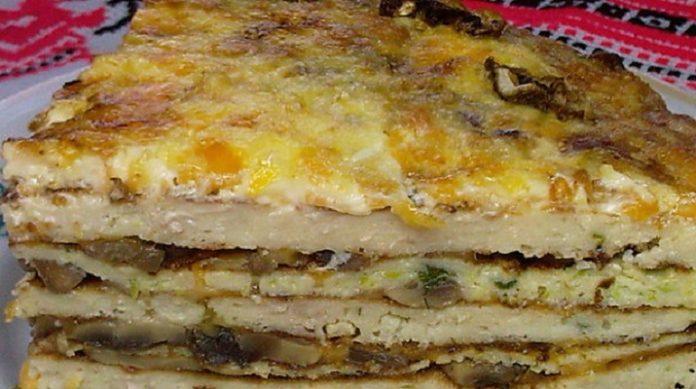 Закусочный торт Княжий