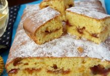 Восхитительный пирог из дрожжевого теста с колбасой «Салфетка»