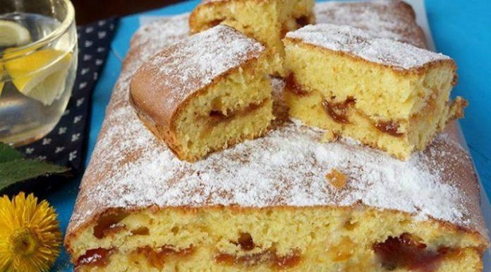 Пирог с вареньем