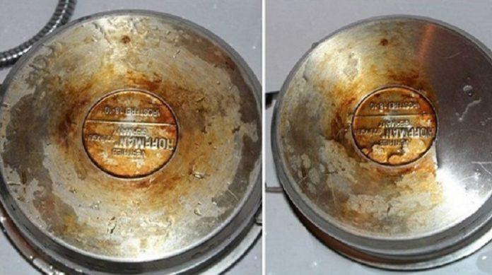 Забытое чудо-средство для очистки кухонной утвари от жира и грязи