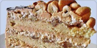Песочный торт «Пани Валевская»