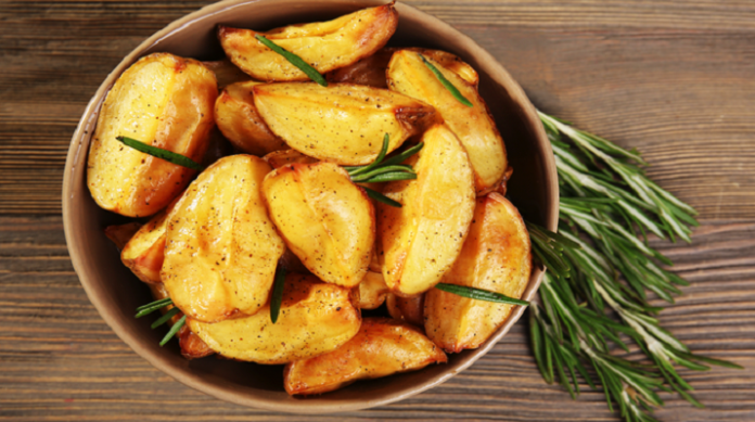 Картофель в травах по-гречески