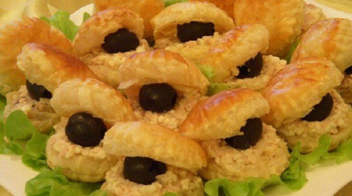 Закуска «Черный жемчуг»