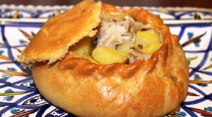 Элеш — сочный татарский пирог