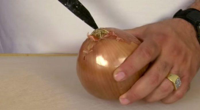 Как резать лук без слез