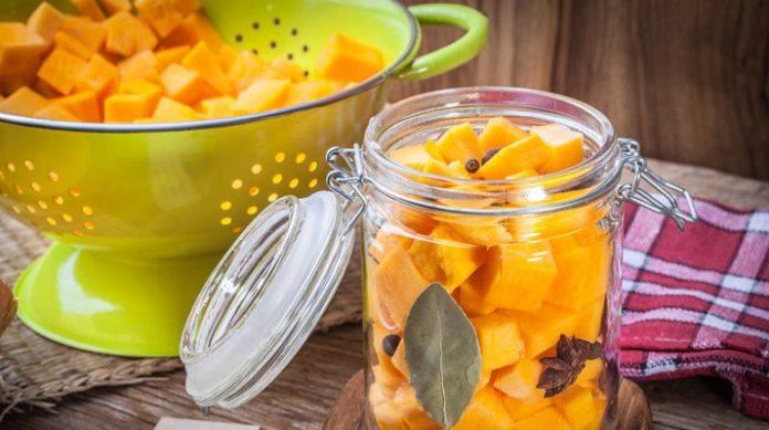 Маринованная тыква: эстонский ананас
