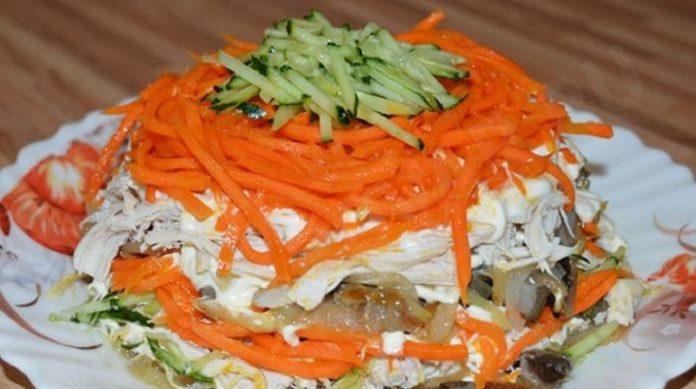 Салат с курицей «Восторг»