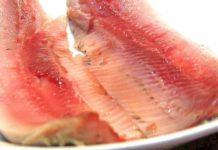 Филе форели (или сёмги), приготовленное в духовке