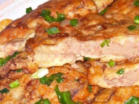 Куриное филе в особой панировке