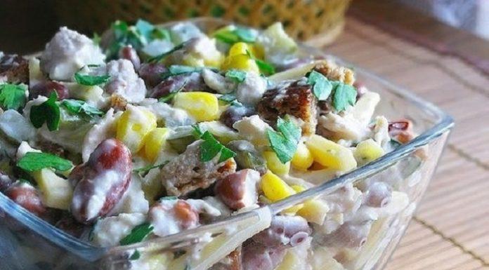ТОП-5 салатов с куриным филе
