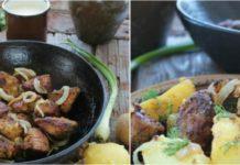 Простой рецепт свиной грудинки, запеченной в духовке