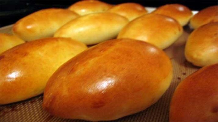 пышное тесто для пирогов в духовке с сухими дрожжами