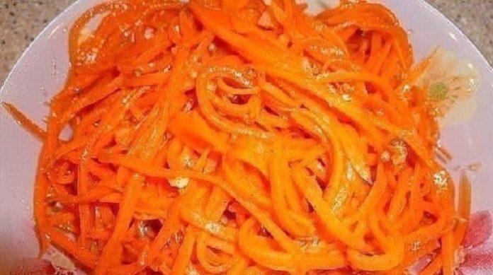 Самая вкусная морковь по-корейски