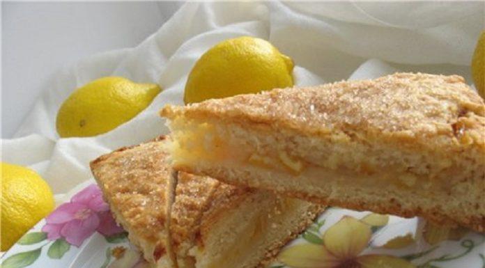 Лимонный пирог «Вкусный пост»