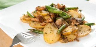 Очень простой салатик «Обжорка»