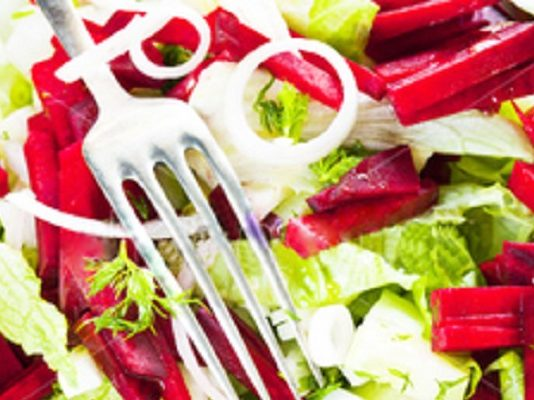 Постный салат — просто объедение