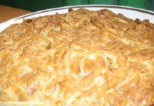 Пирог маковник
