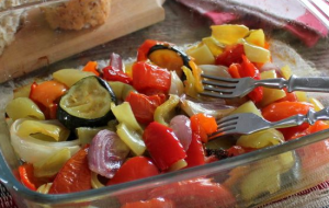 Жаренные овощи