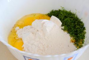 Сырно-кабачковые блинчики
